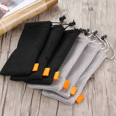 3Sizes Travel Phone Charger USB Cable Earphone Organizer Case Storage Bag Pouch