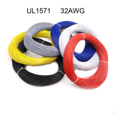UL1571 32AWG PVC Electronic Wire Insulation LED Cable Flexible 300V Multi Color