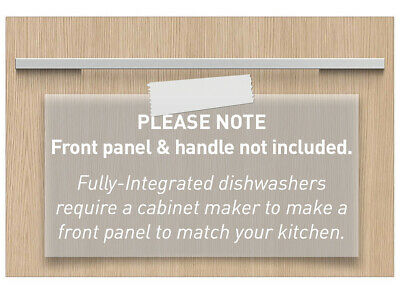 Fisher & Paykel 60cm Fully Integrated Single DishDrawer Dishwasher DD60SI9