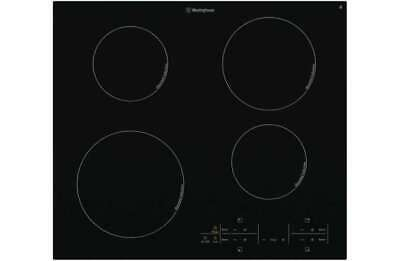 Westinghouse 60cm Black Ceramic Glass Induction Cooktop WHI644BA