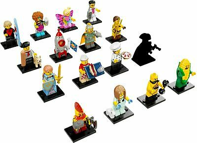 Lego Collectible Series 17 Minifigures Complete Set of 16! 71018!