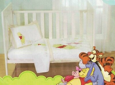 Winnie the Pooh Cot Comforter | Winnie the Pooh Baby Bedding Nursery Baby Gift
