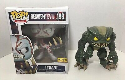 Funko Pop Resident Evil Tyrant 159 Hot Topic Exclusive + Hunter GameStop Loose