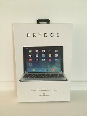 """Brydge Wireless Keyboard Space Gray for 12.9"""" iPad Pro (2017/2015 Model Only)"""