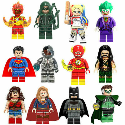 Mini figure Building Blocks Marvel Dc Flash Deadpool Cyclops Wonder Woman Joker