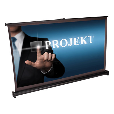 "LTC VST40 DESKTOP PROJECTION SCREEN 40"" 16/9 Self Supporting Mobile Presentation"