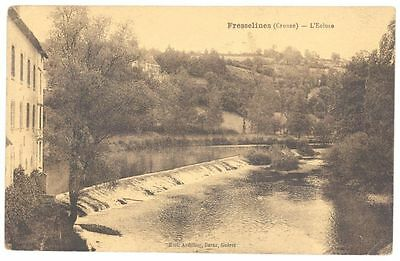 CPA 23 - FRESSELINES - L'Ecluse