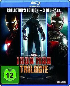 Iron Man Trilogie (Collector's Edition, 3 Discs) [3x Blu-ray Disc]