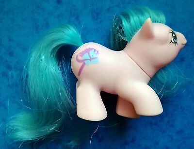 MON PETIT BEBE PONEY HASBRO G1 My Little baby Pony Sniffles - Made in Hong Kong