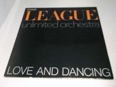League Unlimited Orchestra:  Love & Dancing   1981  EX+   A2/B2    LP
