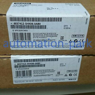New In Box Siemens 6ES7 412-5HK06-0AB0 6ES7412-5HK06-0AB0 DHL free shipping