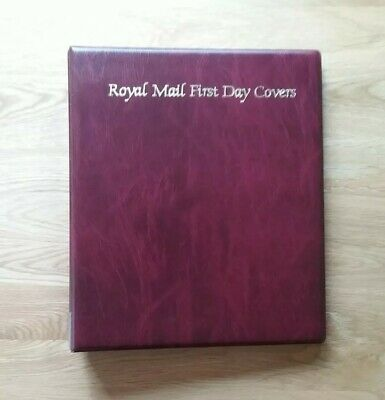 Royal Mail First Day Cover Album & 20 Empty Pages Holds 80 Fdc Excellent/Cond