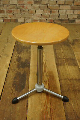 Industrial Design Stool Loft Workshop Stool Doctor Stools Bauhaus 50er