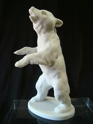 Vintage Kaiser BERLIN PORCELAIN  WHITE BEAR not black forest bear Berlin