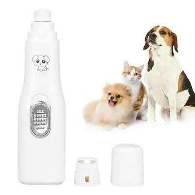 Electric Clipper Dog Paws Nail Trimmer Grinder Toe Grooming Tool For Pet Dog Cat