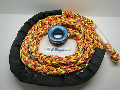 "All Gear 3/4"" X 10' Multipro 12-Strand Soft Rig Sling W/ Friction Ring"