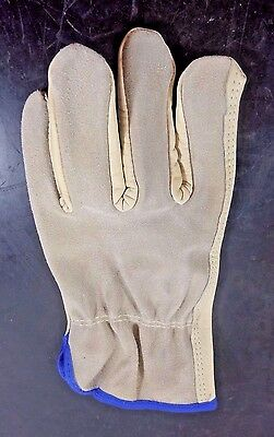 Condor Leather Drivers Gloves Cowhide Tan - Size X-Large (12 Pairs)