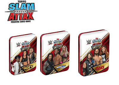 WWE Slam Attax Universe Mini Tin (35 trading cards inc limited edition)