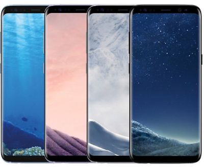 Samsung Galaxy S8+ Plus SM-G955U 64GB AT&T Unlocked Smartphone for All Carriers