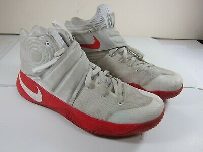 finest selection 761e5 80b6c NIKE KYRIE IRVING 2 NikeiD White/Red Synthetic Men's Size 10.5 843253-994  Shoe's