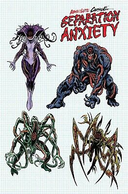 Absolute Carnage Separation Anxiety #1 1:10 Level Design Variant