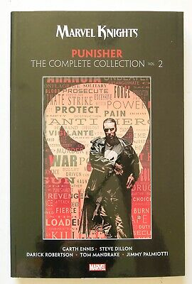 Punisher The Complete Collection Vol. 2 Marvel Graphic Novel Comic Book