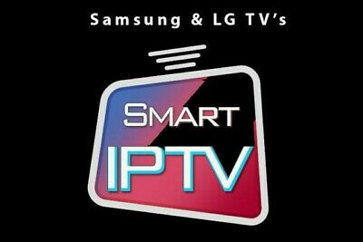 Smart Iptv Subscription 12 Months Samsung Smart Tv Lg Tv Android Firestick Mag