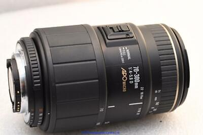 Nikon Digital fit Sigma APO 70-300mm D AF Macro Zoom Lens GOOD CONDITION