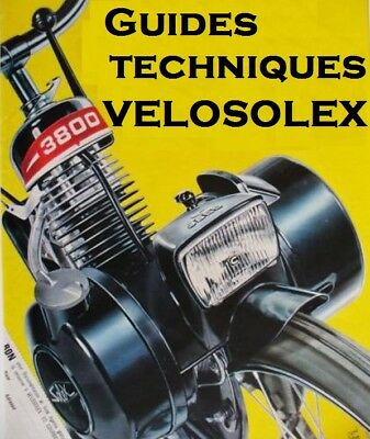 45 GUIDES TECHNIQUES VELOSOLEX sur CD ROM - SOLEX