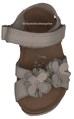 New Baby Girls White Leather NEXT Sandals Size 5 Infant