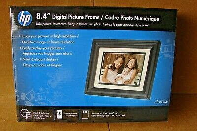 """New HP 8.4"""" Digital Picture Frame Model df840a4"""