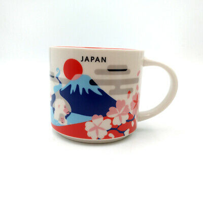 Starbucks City 14oz You Are Here Collection Coffee Mug Cup YAH Tokyo Japan New