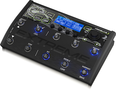 TC Helicon VoiceLive 3  Extreme Vocal Effect Processor + Warranty