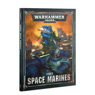 Codex: Space Marines 8th Edition UPDATE Warhammer 40K NIB