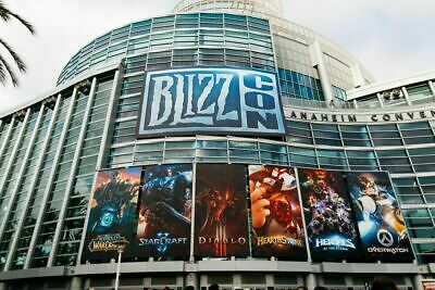 1-2 BlizzCon 2019 Pass Tickets Footman & All Digital Goodies - Verified Seller!