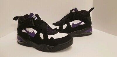 NIKE AIR FORCE Max CB Charles Barkley Black Purple White