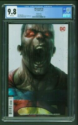 DCeased #2 CGC 9.8 Francesco Mattina Variant Cover Edition Superman Tom Taylor