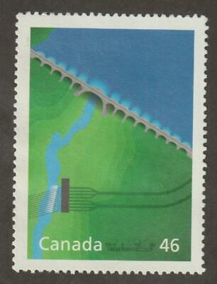 CANADA 2000 Millennium collection #1831b – 14 Eng. & Tech. (Manic Dams, QC) Used