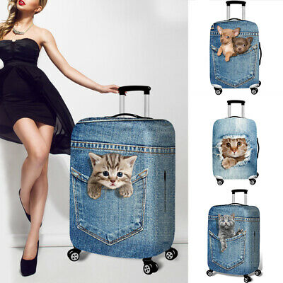 Travel Luggage Suitcase Protector Cover Dust-proof Case Dust Proof Bag Blue