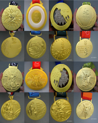 8 piece Olympic Gold Medals-1988/1996/2000/2004/2008/2012/2016/2014