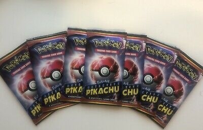 Pokemon Detective Pikachu 4 Card Booster Pack SEALED