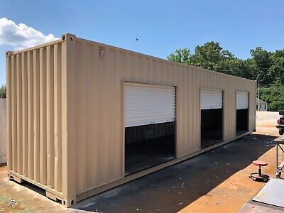 storage units from shipping containers