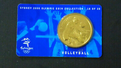 Sydney 2000 Olympic $5 Coin VOLLEYBALL  - 18 of 28 NO OUTER SLEAVE