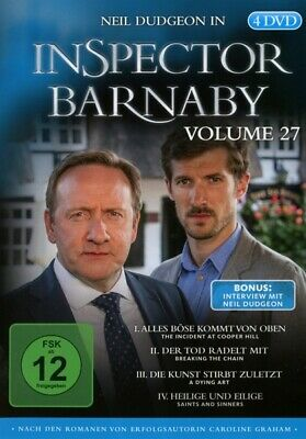 Inspector Barnaby Vol. 27 4x DVD-5 Neil Dudgeon Jane Wymark Barry Jackson Laura