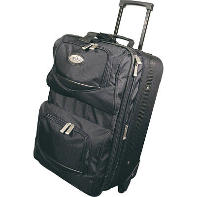 "Geoffrey Beene Luggage 20"" Expandable Wheeled Carry-On Softside Carry-On NEW"