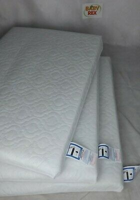 Thick Travel Cot Mattress Fully Breathable Mattress Quilted Cover Fast Delivery