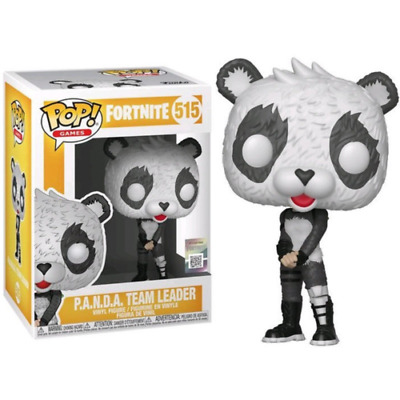Funko Pop! Games Fortnite - P.a.n.d.a. Team Leader #515 Nuovo!!!