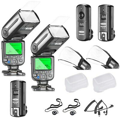 Neewer NW565EX I-TTL Slave Flash Speedlite Kit for Nikon DSLR Camera