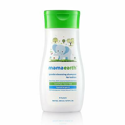 Mamaearth Gentle Cleansing Shampoo For Babies (0-5 Yrs) 200 ml Free Ship