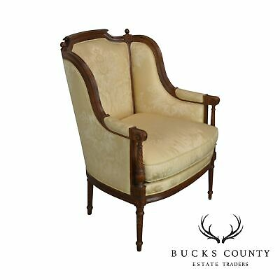 Hickory Chair French Louis XVI Style Bergere Chair